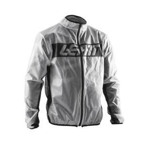 Leatt Adults Motocross MX Enduro Motor Bike Waterproof Race Cover Jacket - Clear