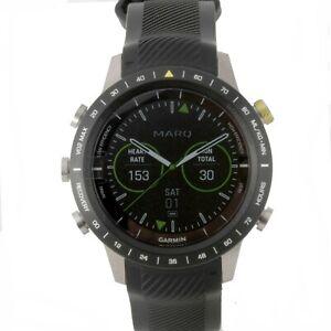 Garmin Men's MARQ The Athlete Black Runner Smartwatch 010-02006-16