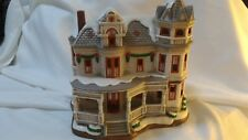 Lefton Colonial Christmas Village 1642/5500 SIR GEORGE'S MANOR 1997 C2