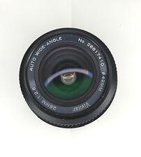 Vivitar 28mm 2.8 Auto Wide Angle Canon FD Fit