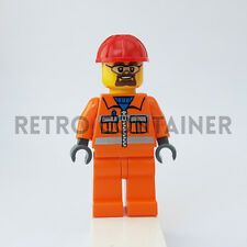LEGO Minifigures - 1x cty483 - Construction Worker - Town Omino Minifig Set 5642