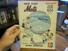 1964 New York (NY) Mets yearbook, Revised.