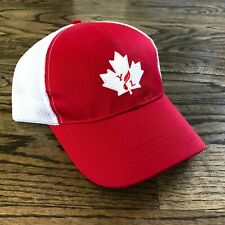 Young Living Canada Swag ~ Red and White Baseball Hat NEW!