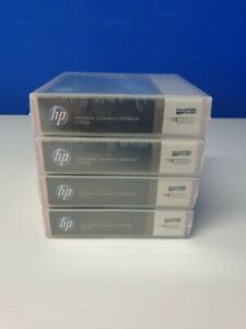 HP LTO Ultrium Universal Cleaning Cartridge C7978A Lot of 4