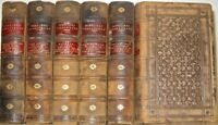 LEATHER Set;Works of WILLIAM SHAKESPEARE!complete First Edition 1853! RARE! gift
