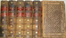 LEATHER Set;Works of WILLIAM SHAKESPEARE! COMPLETE 1853! RARE! gift ANTIQUARIAN!