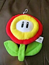 "Mario Bros. Red Flower 7"" Inches Plush (New)"