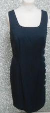 20 17/2 ALBA MODA Damen Kleid Etuikleid dunkelblau ärmellos Damenkleid Gr. 36