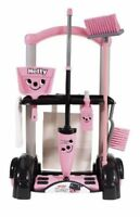 Casdon Little Helper Hetty pink cleaning trolley 58cm high Pretend Play