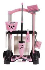 Casdon Little Helper Hetty pink cleaning trolley 58cm high Pretend Play