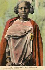 CARTE POSTALE / MADAGASCAR / DIEGO SUAREZ JEMME FEMME MALGACHE