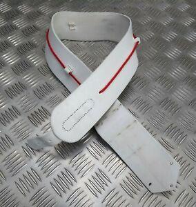 Genuine British Military Issue H Cav Buff Leather Cross Belt Strap Buff Leather