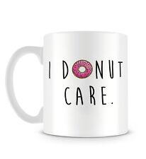 Me Donut cuidado Gracioso Cotización De Postre Repostería Con Donut dibujo Taza