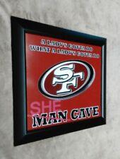 San Francisco 49ers SHE CAVE 8x10 Framed Photo