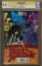 Young Avengers #4 O'Malley Variant CGC 9.8 SS BRYAN LEE O'MALLEY & JAMIE MCELVIE