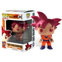 Dragon ball z super saiyan god goku funko pop figure figura anime manga vinyl