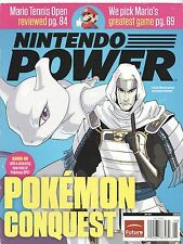 NINTENDO POWER MAGAZINE May 2012 Pokemon Conquest