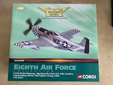 AA34403 CORGI North American P-51D Mustang Big Beautiful Doll, John Landers 1/32