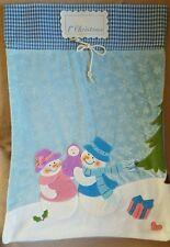 Luxury Baby's 1st Christmas Super Soft Fleece Xmas Stocking / Santa Sack - New