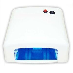 NAIL UV LAMP 36W, SM818M WHITE, SQUARE, ELECTRONIC.