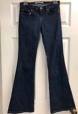J Brand Flare Leg Babe Style Mid Rise Jeans Dark Starless Wash Bell Bottom 26