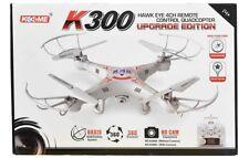 DRONE QUADRICOTTERO K300 2,4GHZ CON TELECAMERA FOTO VIDEO 360° PORTATILE CW213