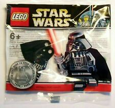 RARE Chrome Darth Vader Promo Minifg Star Wars 10th Anniversary LEGO NEW 4547551