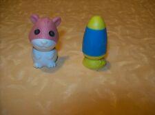 GOMU serie 1 GOMMINE PUZZLE TOPOLINO ROSA E LAMPADA  cod.12993
