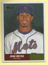 2010 Topps Chrome Baseball Jose Reyes Heritage Chrome New York Mets 1421/1961