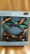 Countess Mara 2 pack Bow Ties 100 % Silk