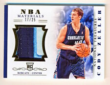 2013-14 National Treasures Cody Zeller NBA Rookie Materials Patch Rc (17/25)