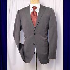 4de79d3da1a7e MASSIMO DUTTI Gray Cloud with Hint of Stripes Men Blazer Coat Jacket