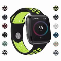 For Fitbit Versa Wrist Strap Wristband Silicone Replacement Accessory Watch Band