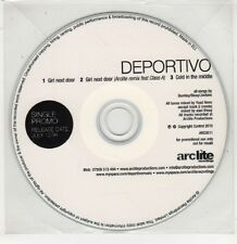 (GU81) Deportivo, Girl Next Door - 2010 DJ CD