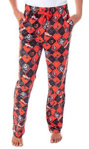 B103 NEW  DC Comics Batman Batgirl Lounge Capri Sleep Pants Womens Size S
