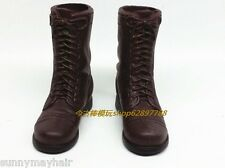 """1/6 WWII U.S. Combat Military Boots Hollow Shoes F 12"""" Solider Action Figures"""