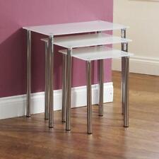 Glass Rectangular Contemporary Tables