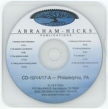 Abraham-Hicks Esther CD 10-14-17-A Philadelphia, PA - Edited Workshop - New
