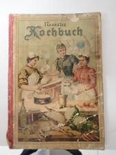 Tolles antikes Kochbuch Jugendstil um 1900