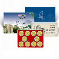 Paper box Coin Holder Commemorative Money Penny Award Gift Round capsule