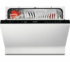 AEG F55210Vi0 Integrated A+ Rated Compact Dishwasher