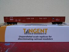 "Tangent Scale Models Lehigh Valley 52' 6"" 70-Ton Gondola 10921 LV Original HO"
