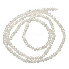 100% Natural Freshwater Pearl Loose Beads Lots Wholesales Strand White 2.1mm