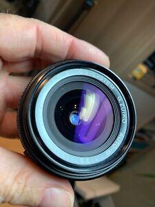 Olympus Zuiko 21mm f/3.5 Lens