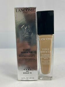 LANCOME Teint Miracle Radiant Foundation SPF15 * 260 BISQUE 1N * EXP 02/22