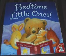 BEDTIME LITTLE ONES! -21 PAGE BOOK- 2016 (BRAND NEW)