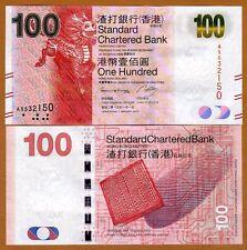 Hong Kong, $100, 2013, SCB, P-299-New, UNC