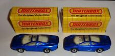 "2 Matchbox ""Blue Jaguar XL220"" MB 31 New in Box with Free Shipping"