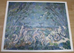 PAUL CEZANNE - THE BATHERS * KUNSTKREIS LUCERNE ART PRINT 1965