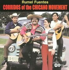 Rumel Fuentes Corridos Of The Chicano Movement Brand New CD Sealed